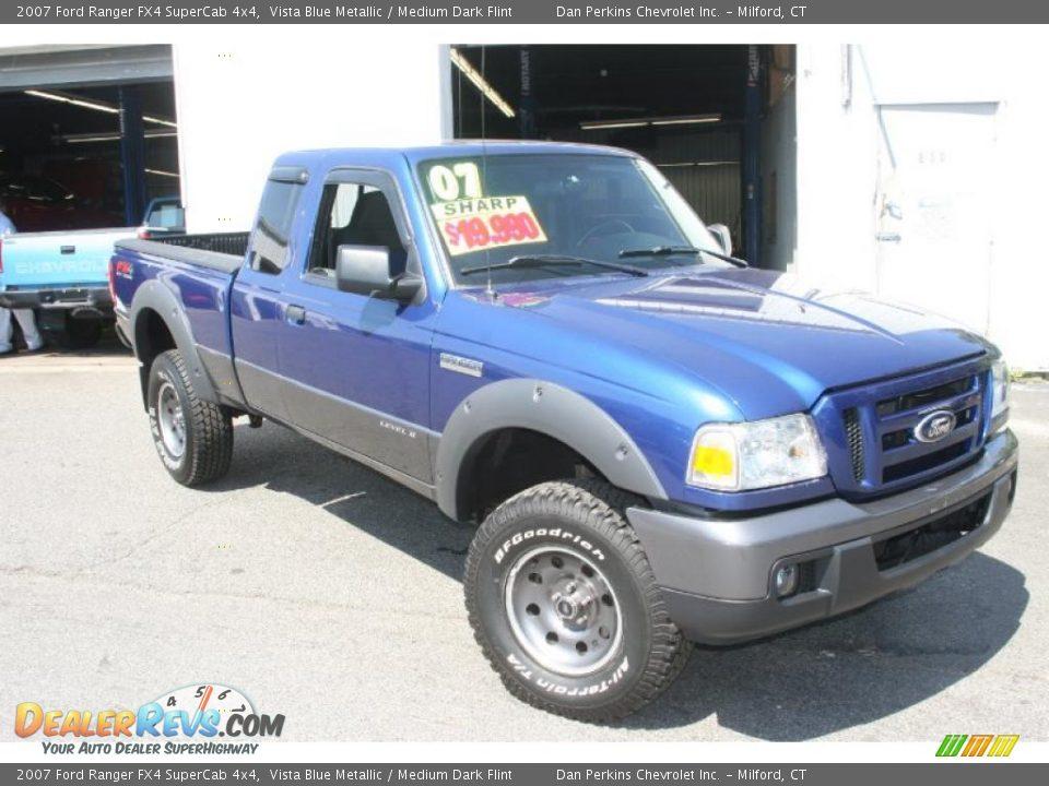 Ford Dealer Locator >> 2007 Ford Ranger FX4 SuperCab 4x4 Vista Blue Metallic ...