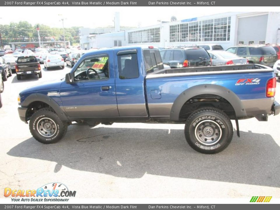 2007 Ford Ranger Fx4 Supercab 4x4 Vista Blue Metallic