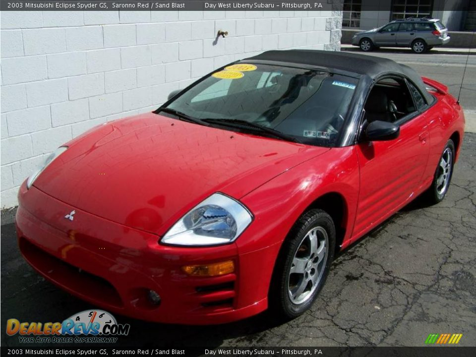 2003 mitsubishi eclipse spyder gs saronno red sand blast photo 3. Black Bedroom Furniture Sets. Home Design Ideas