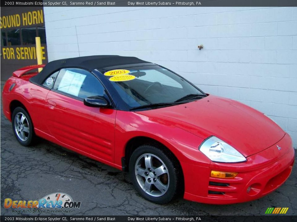 2003 mitsubishi eclipse spyder gs saronno red sand blast photo 9. Black Bedroom Furniture Sets. Home Design Ideas