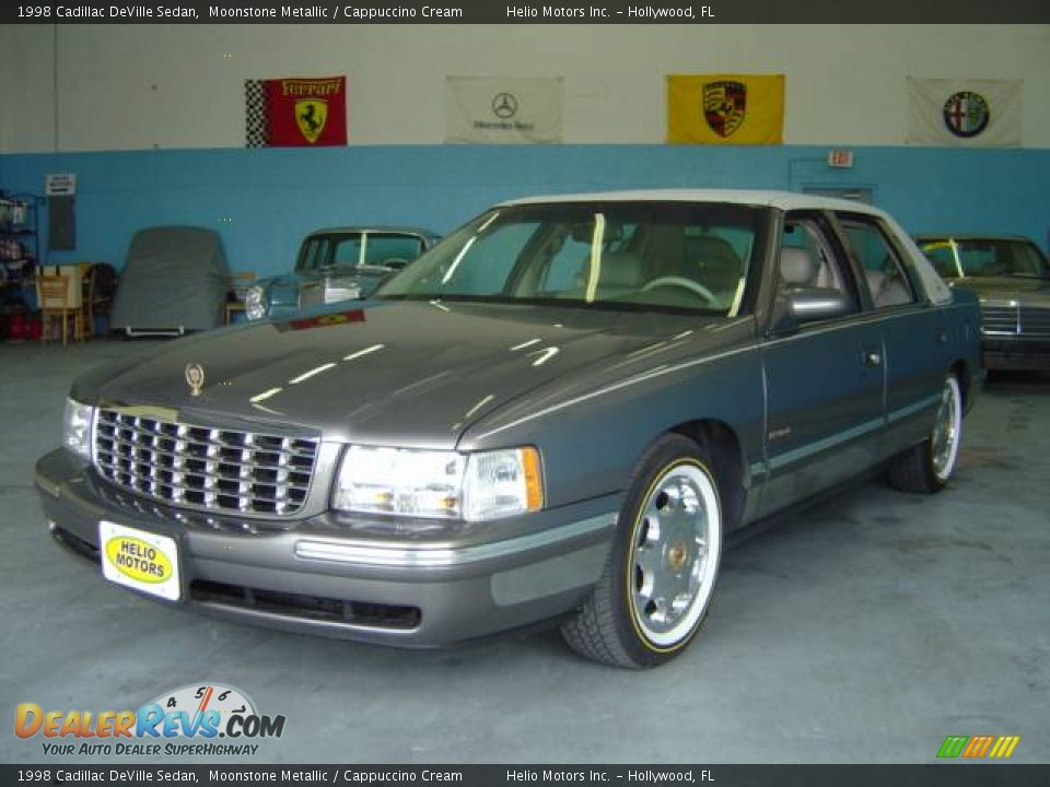 1998 cadillac deville sedan moonstone metallic cappuccino cream photo 1. Cars Review. Best American Auto & Cars Review