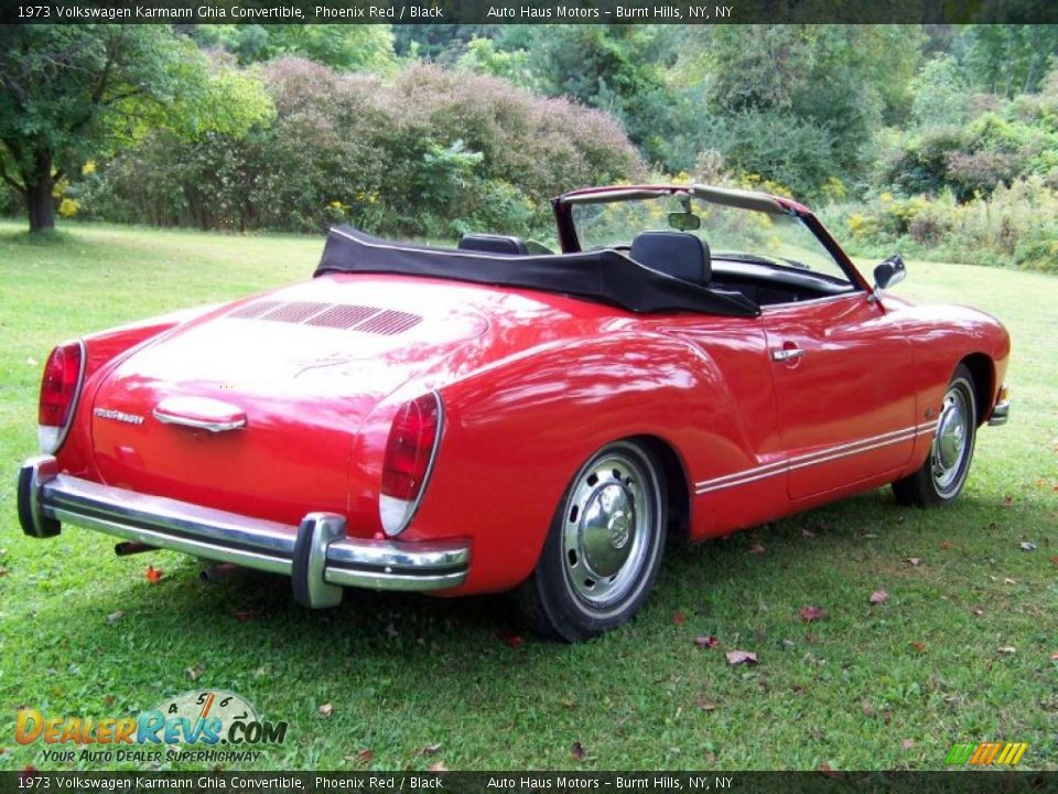 Used Cars Phoenix >> 1973 Volkswagen Karmann Ghia Convertible Phoenix Red ...