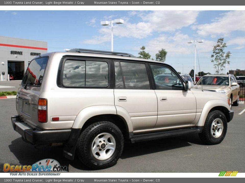 1993 Toyota Land Cruiser Light Beige Metallic / Gray Photo ...