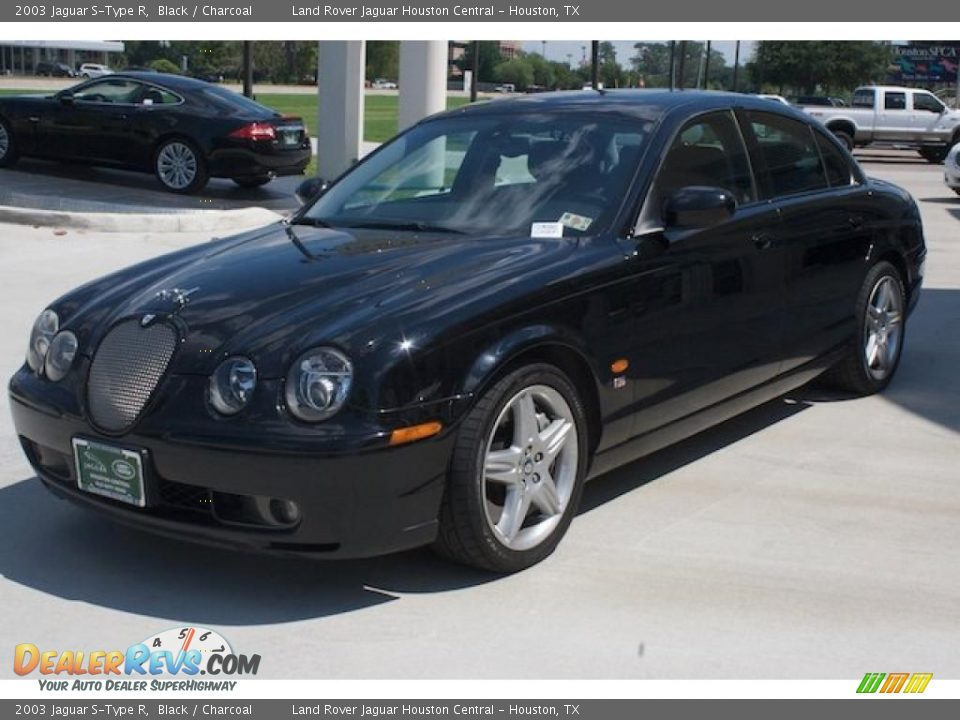 2003 jaguar s type r black charcoal photo 13. Black Bedroom Furniture Sets. Home Design Ideas