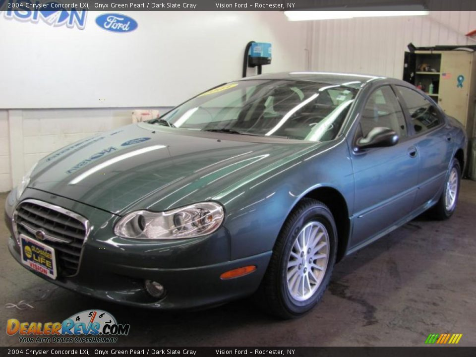 2004 chrysler concorde lxi onyx green pearl dark slate gray photo 1. Cars Review. Best American Auto & Cars Review