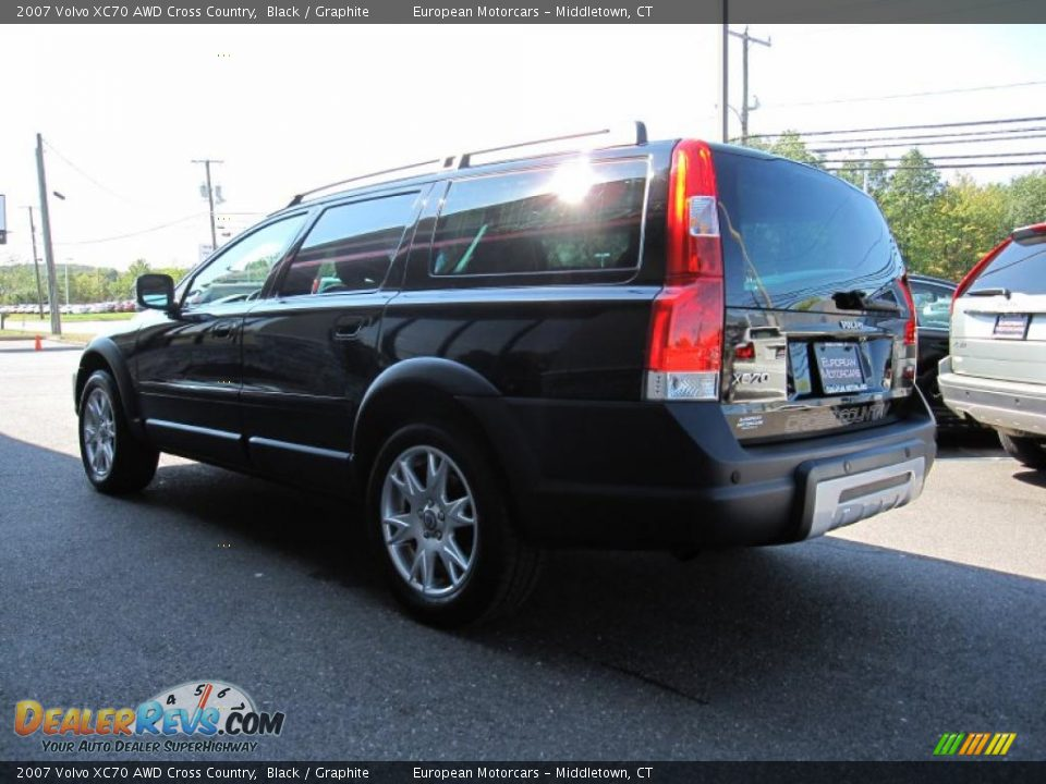 2007 Volvo Xc70 Awd Cross Country Black Graphite Photo