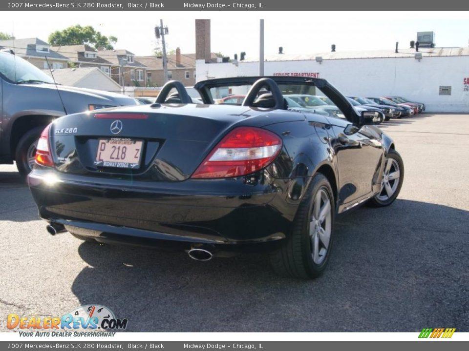 2007 mercedes benz slk 280 roadster black black photo 3 for 2007 mercedes benz slk