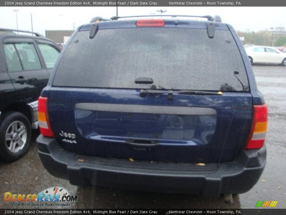 2004 jeep grand cherokee freedom edition 4x4 midnight blue pearl dark slate gray photo 3. Black Bedroom Furniture Sets. Home Design Ideas