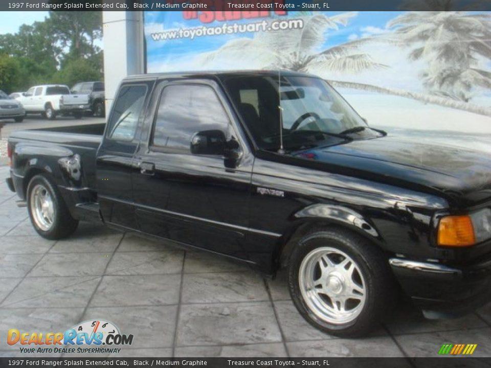 1997 Ford Ranger Splash Extended Cab Black Medium