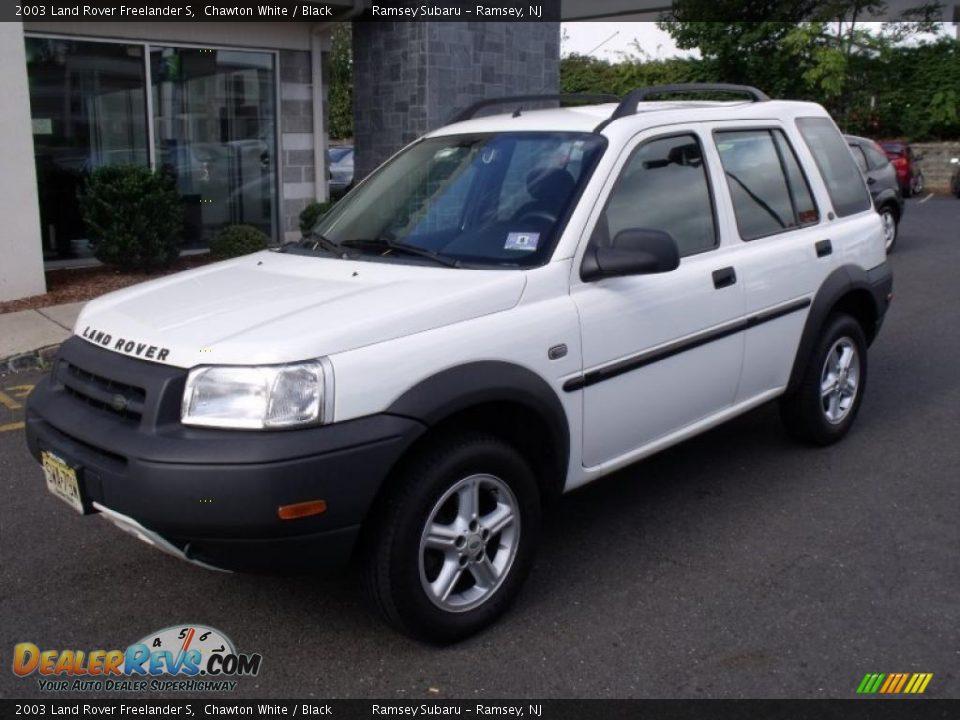 2003 Land Rover Freelander S Chawton White Black Photo