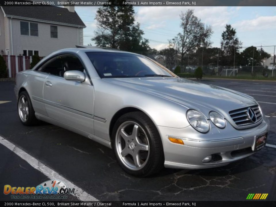 2000 mercedes benz cl 500 brilliant silver metallic. Black Bedroom Furniture Sets. Home Design Ideas