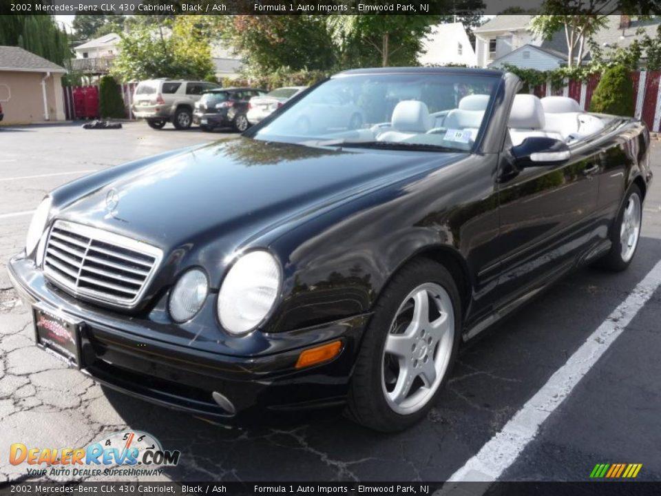 2002 mercedes benz clk 430 cabriolet black ash photo 1 for Mercedes benz 430 clk