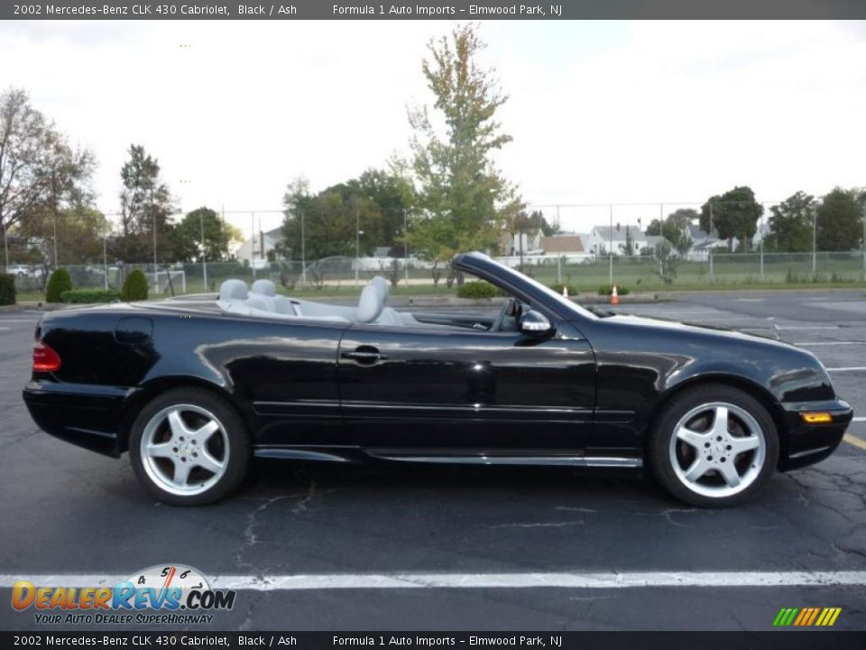 2002 mercedes benz clk 430 cabriolet black ash photo 11. Black Bedroom Furniture Sets. Home Design Ideas