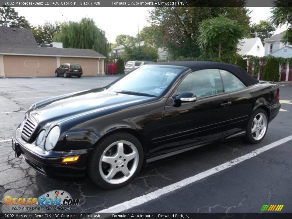 2002 mercedes benz clk 430 cabriolet black ash photo 15 for Mercedes benz clk 2002