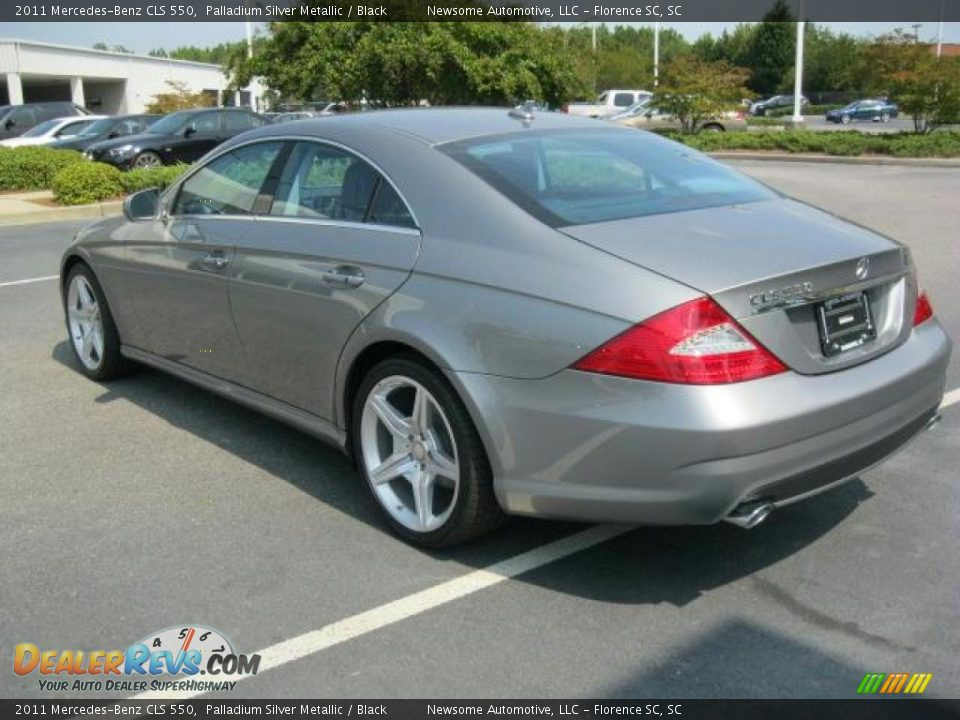 2011 mercedes benz cls 550 palladium silver metallic for 2011 mercedes benz cls 550