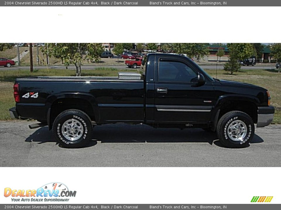 2004 chevrolet silverado 2500hd ls regular cab 4x4 black dark charcoal photo 2. Black Bedroom Furniture Sets. Home Design Ideas