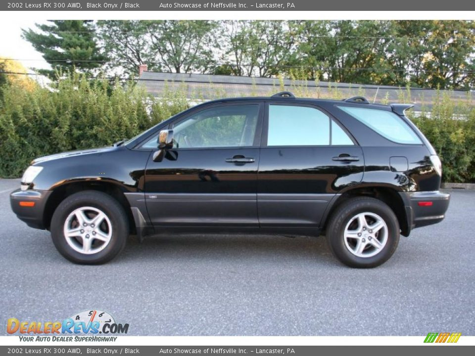 2002 lexus rx 300 awd black onyx black photo 4. Black Bedroom Furniture Sets. Home Design Ideas