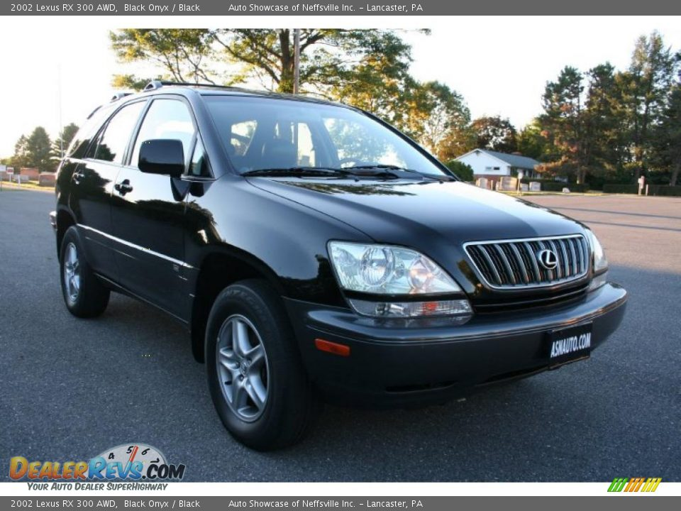 2002 lexus rx 300 awd black onyx black photo 9. Black Bedroom Furniture Sets. Home Design Ideas