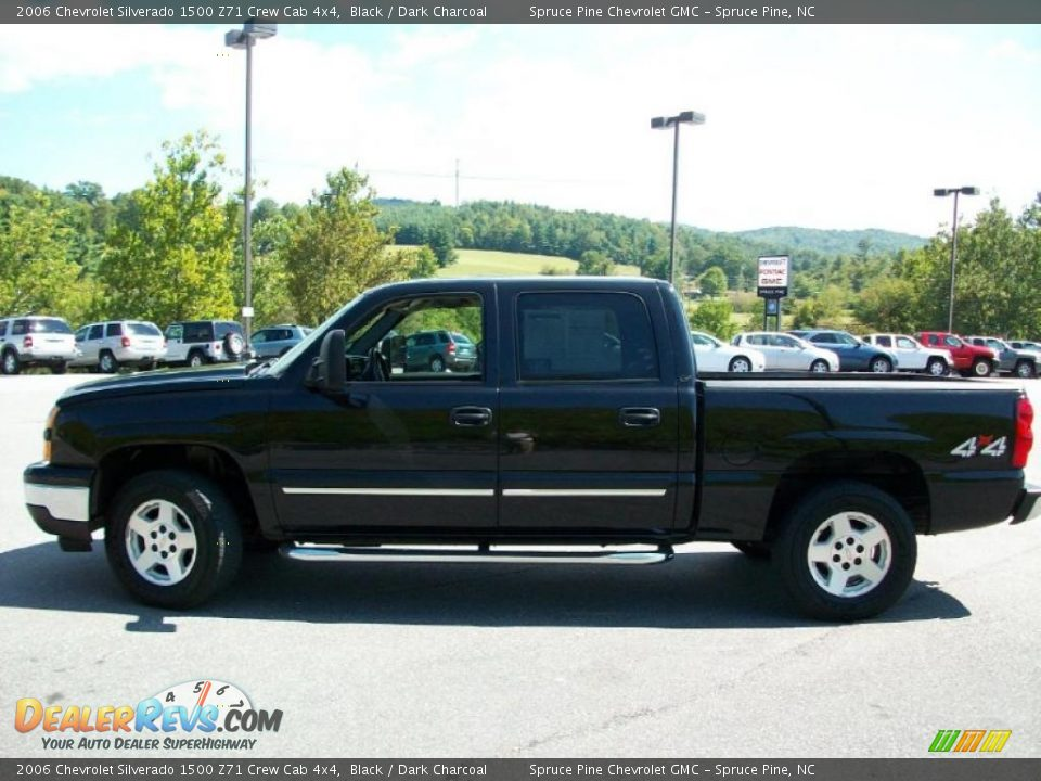 2006 chevrolet silverado 1500 z71 crew cab 4x4 black dark charcoal photo 1. Black Bedroom Furniture Sets. Home Design Ideas