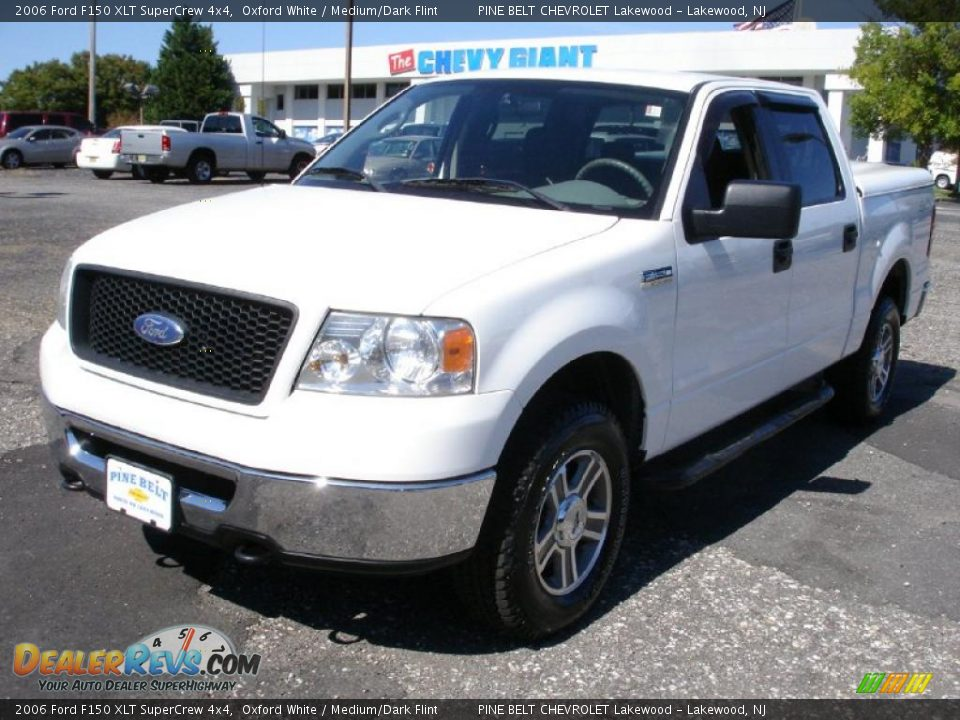 2006 ford f150 xlt supercrew 4x4 oxford white medium. Black Bedroom Furniture Sets. Home Design Ideas