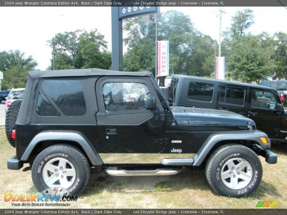 2004 jeep wrangler columbia edition 4x4 black dark slate gray photo 6. Black Bedroom Furniture Sets. Home Design Ideas