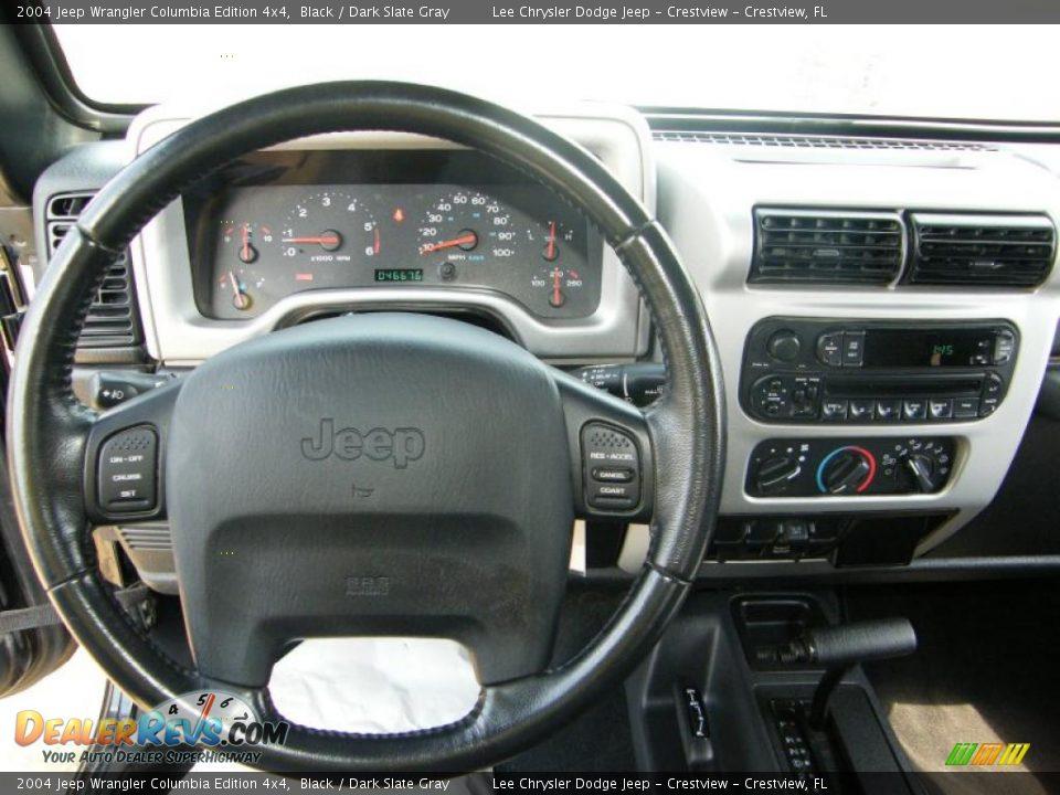 2004 jeep wrangler columbia edition 4x4 black dark slate gray photo 18. Black Bedroom Furniture Sets. Home Design Ideas