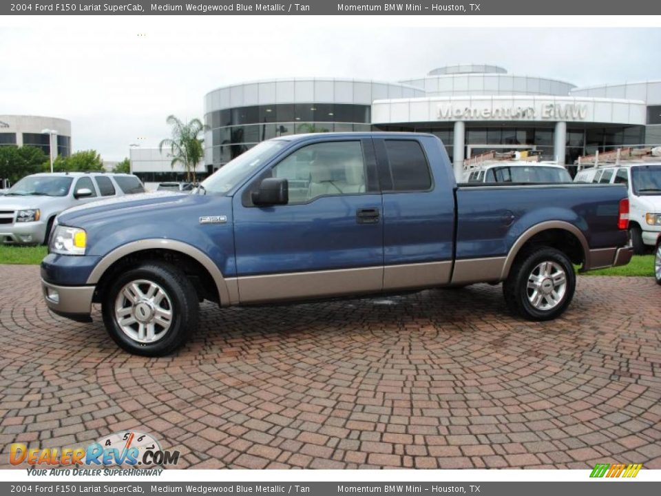 2004 ford f150 lariat supercab medium wedgewood blue. Black Bedroom Furniture Sets. Home Design Ideas