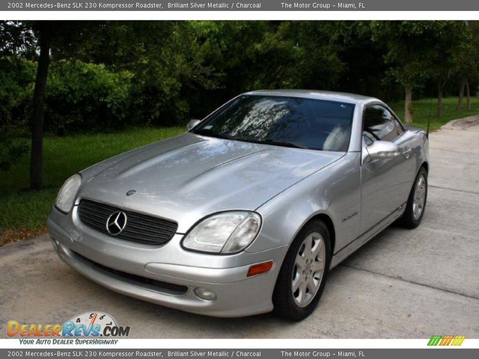 2002 mercedes benz slk 230 kompressor roadster brilliant