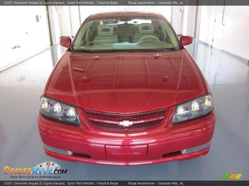 2005 chevrolet impala ss supercharged sport red metallic neutral beige photo 6. Black Bedroom Furniture Sets. Home Design Ideas
