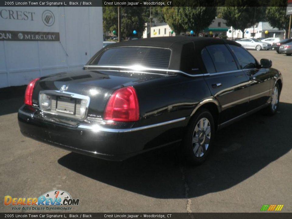 2005 lincoln town car signature l black black photo 6. Black Bedroom Furniture Sets. Home Design Ideas