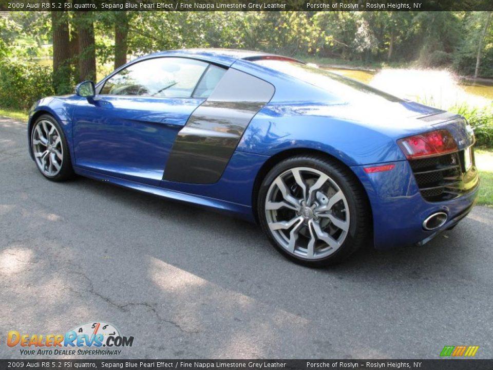 Sepang Blue Pearl Effect 2009 Audi R8 5 2 Fsi Quattro