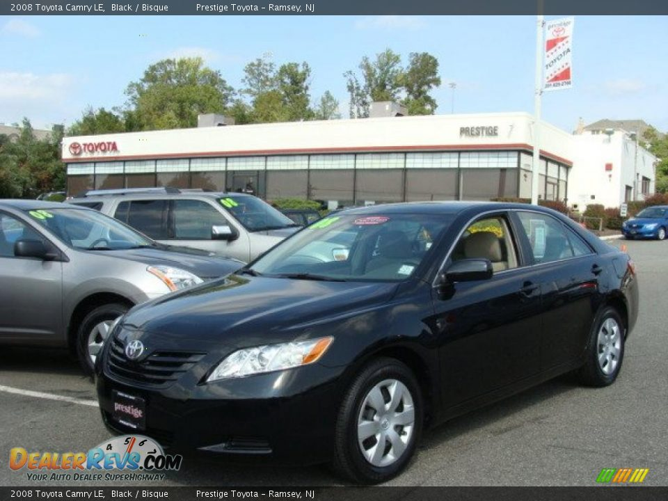 2008 Toyota Camry Le Black Bisque Photo 1 Dealerrevs Com