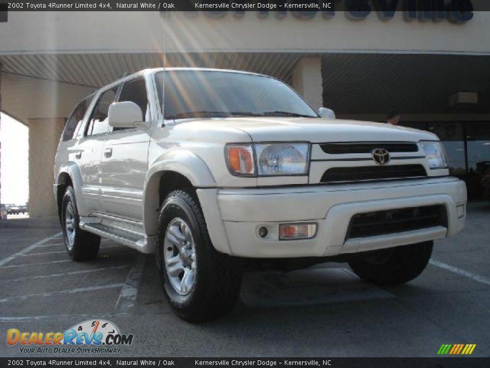 2002 Toyota 4runner Limited 4x4 Natural White Oak Photo