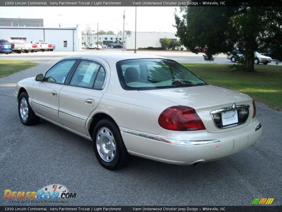 Auto Com Used Cars >> 1999 Lincoln Continental Ivory Parchment Tricoat / Light ...