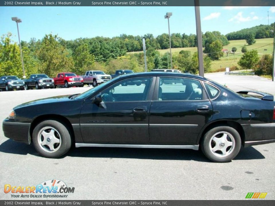 2002 chevrolet impala black medium gray photo 1. Cars Review. Best American Auto & Cars Review