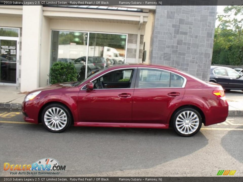 2010 subaru legacy 2 5 gt limited sedan ruby red pearl off black photo 3. Black Bedroom Furniture Sets. Home Design Ideas