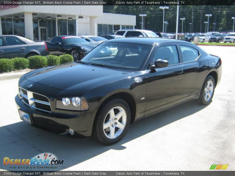2009 dodge charger sxt brilliant black crystal pearl. Black Bedroom Furniture Sets. Home Design Ideas