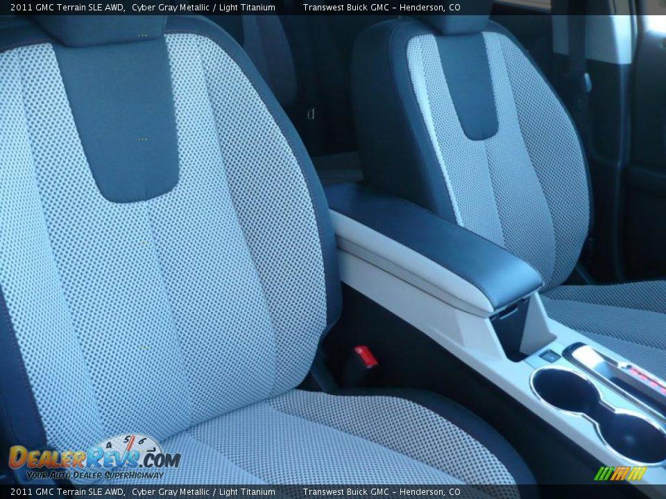 2011 GMC Terrain SLE AWD Cyber Gray Metallic / Light Titanium Photo #5