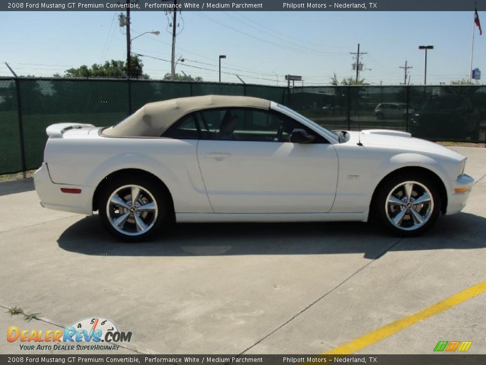 2008 ford mustang gt premium convertible performance white. Black Bedroom Furniture Sets. Home Design Ideas
