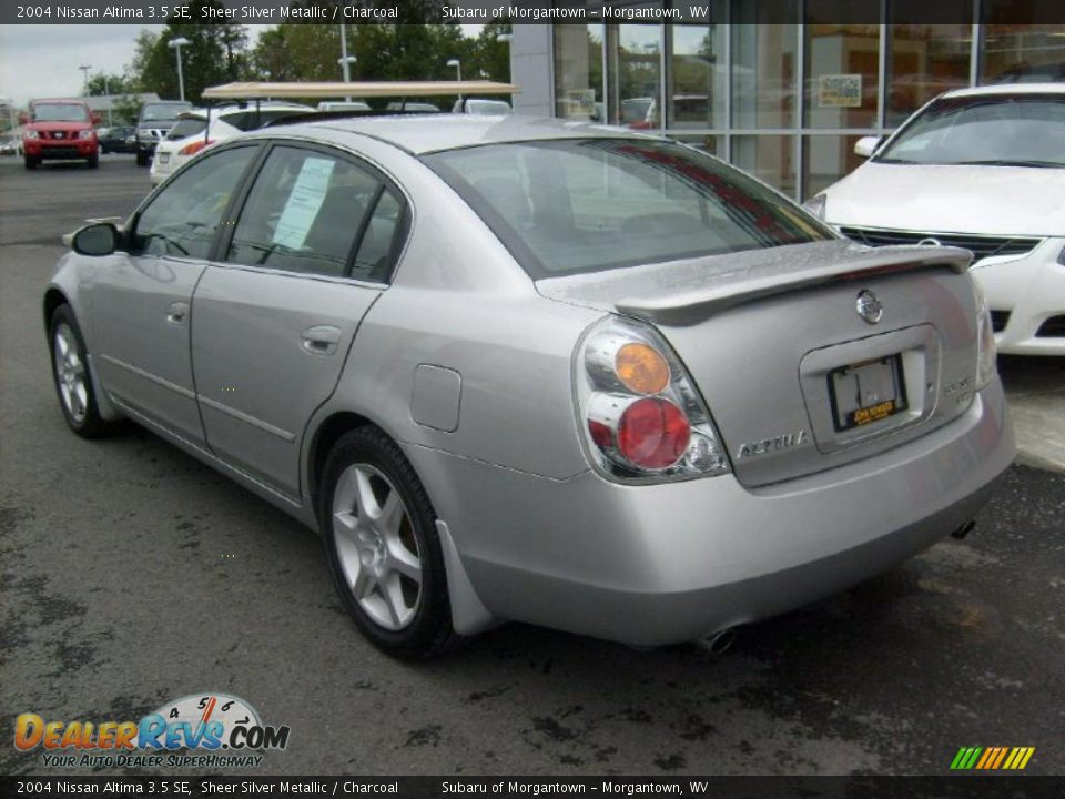 2004 Nissan Altima 3 5 Se Sheer Silver Metallic Charcoal