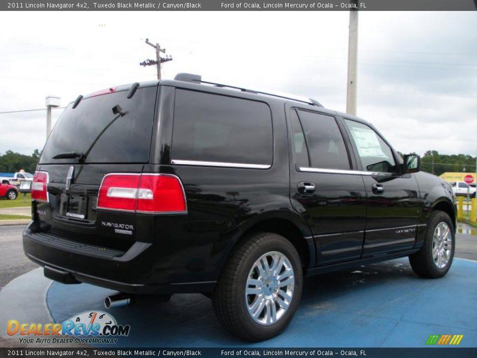 2011 Lincoln Navigator 4x2 Tuxedo Black Metallic Canyon