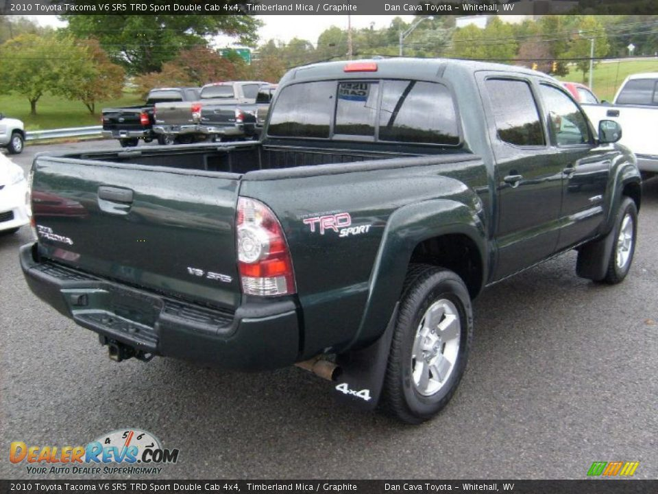 2010 toyota tacoma v6 sr5 trd sport double cab 4x4 timberland mica graphite photo 7. Black Bedroom Furniture Sets. Home Design Ideas