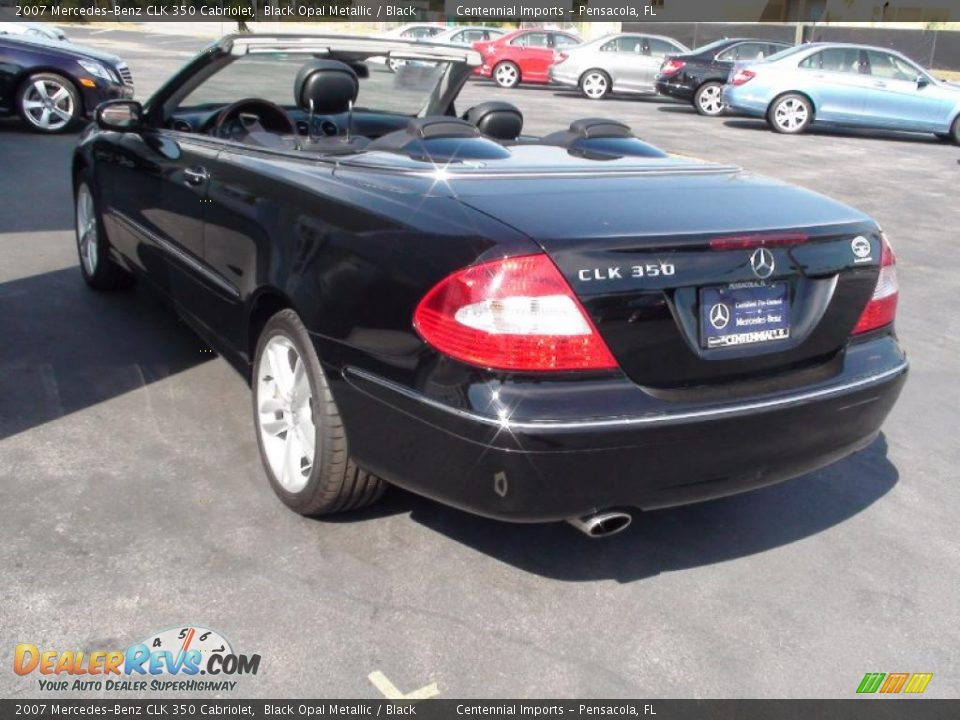 2007 mercedes benz clk 350 cabriolet black opal metallic for 2007 mercedes benz clk