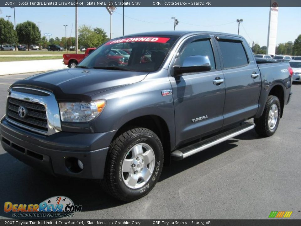 2007 toyota tundra limited crewmax 4x4 slate metallic graphite gray photo 3. Black Bedroom Furniture Sets. Home Design Ideas