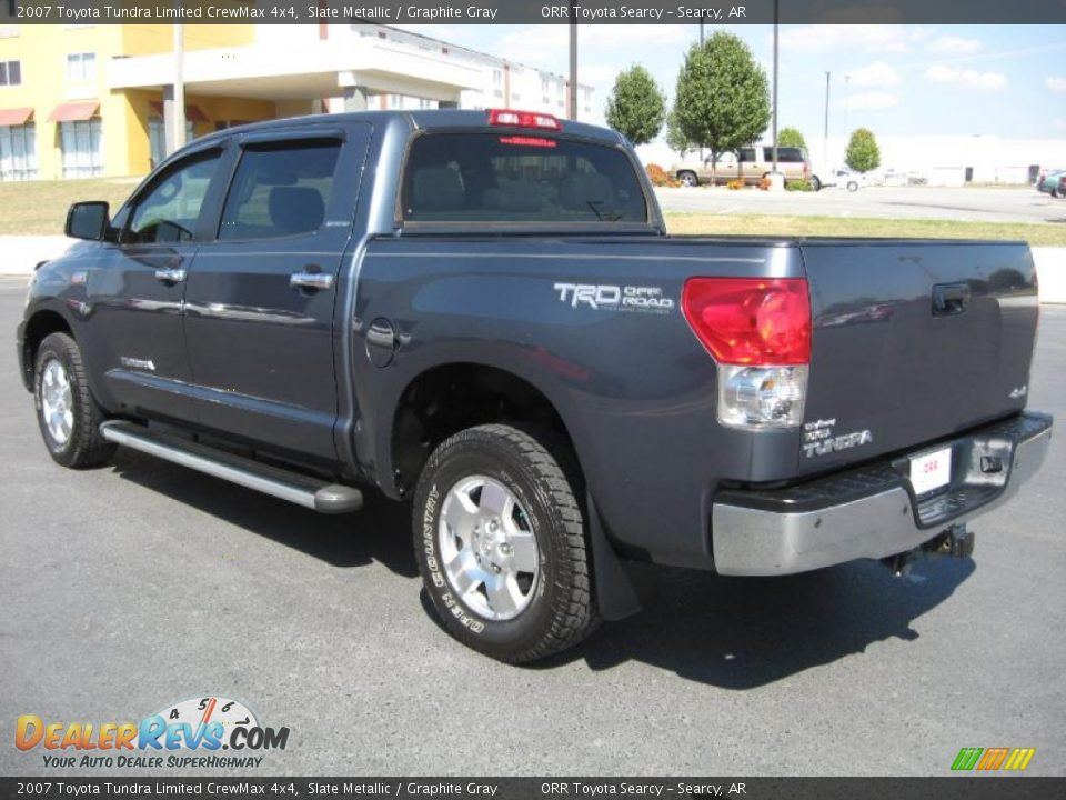 2007 toyota tundra limited crewmax 4x4 slate metallic graphite gray photo 4. Black Bedroom Furniture Sets. Home Design Ideas