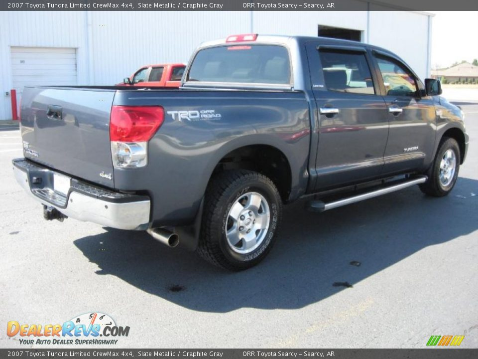 2007 toyota tundra limited crewmax 4x4 slate metallic graphite gray photo 6. Black Bedroom Furniture Sets. Home Design Ideas