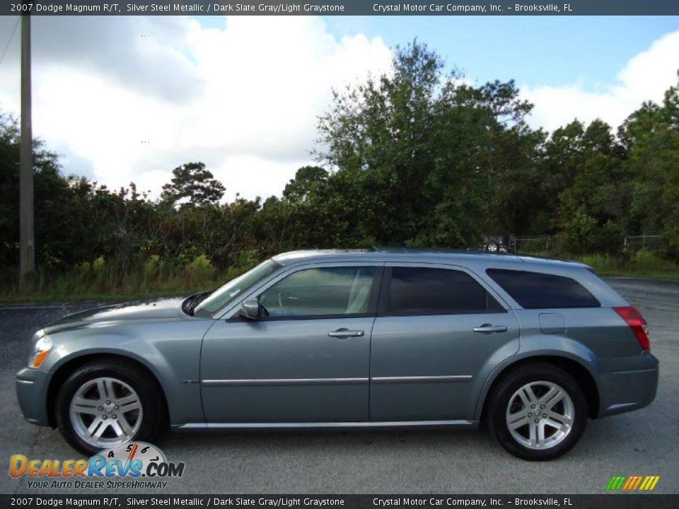 2007 Dodge Magnum R T Silver Steel Metallic Dark Slate