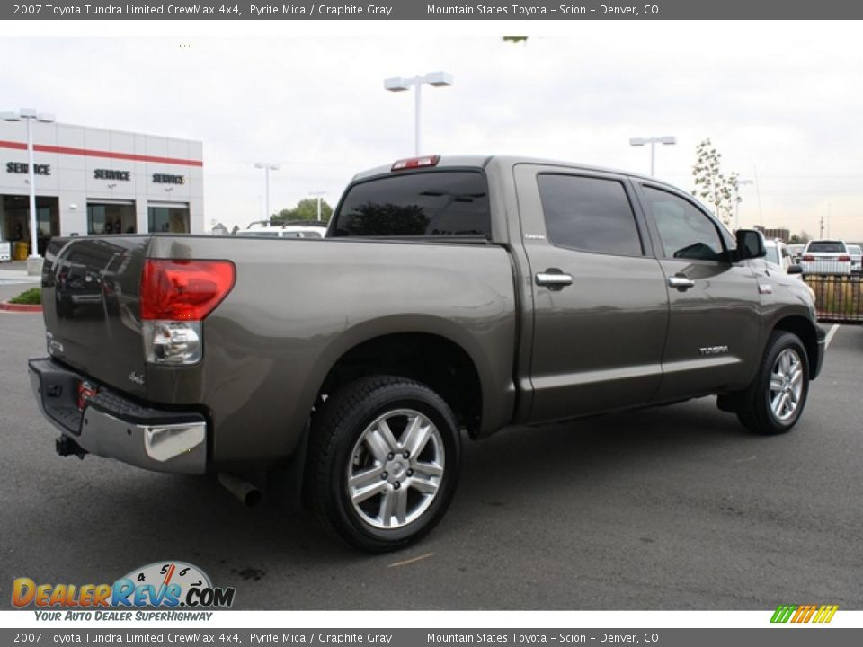 2007 toyota tundra limited crewmax 4x4 pyrite mica graphite gray photo 2. Black Bedroom Furniture Sets. Home Design Ideas