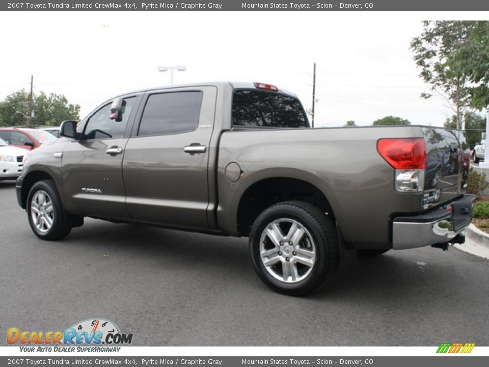 2007 toyota tundra limited crewmax 4x4 pyrite mica graphite gray photo 4. Black Bedroom Furniture Sets. Home Design Ideas