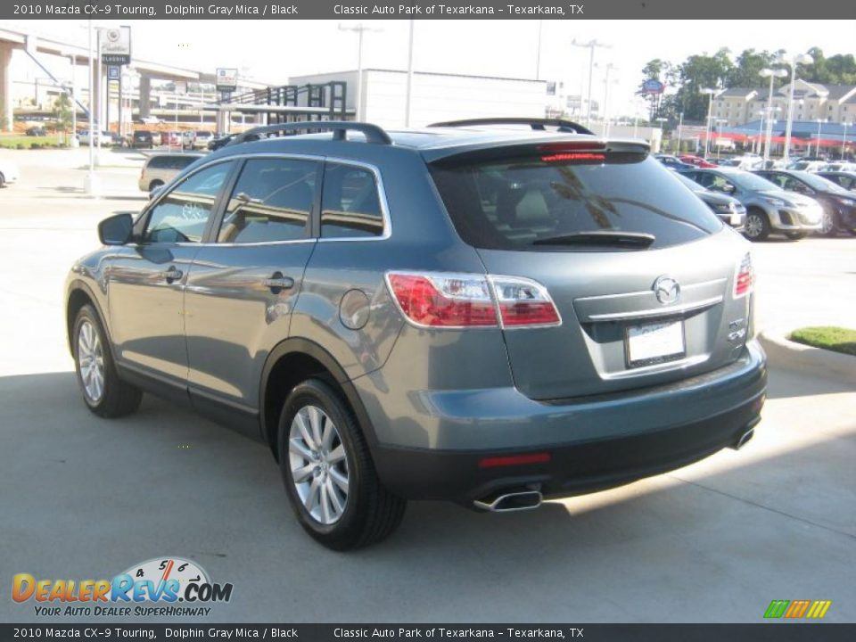 2010 mazda cx 9 touring dolphin gray mica black photo 3. Black Bedroom Furniture Sets. Home Design Ideas